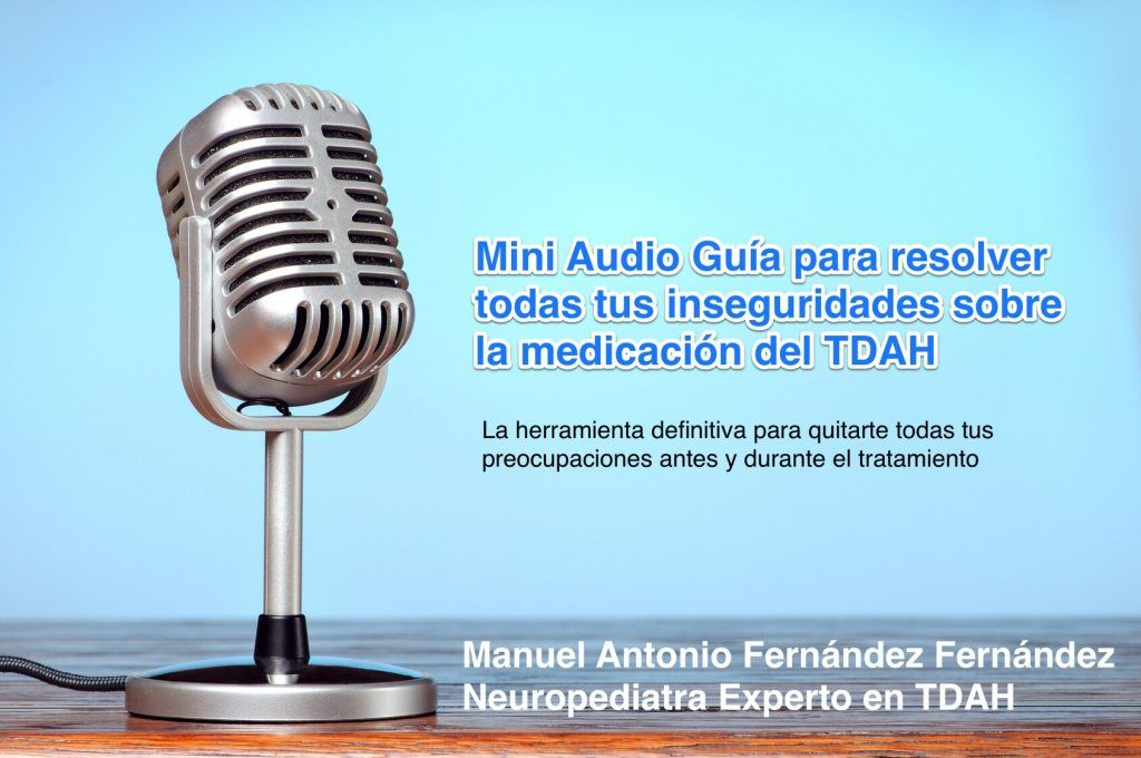 guía medicación TDAH