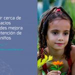 Vivir cerca de espacios verdes mejora la atención de los niños