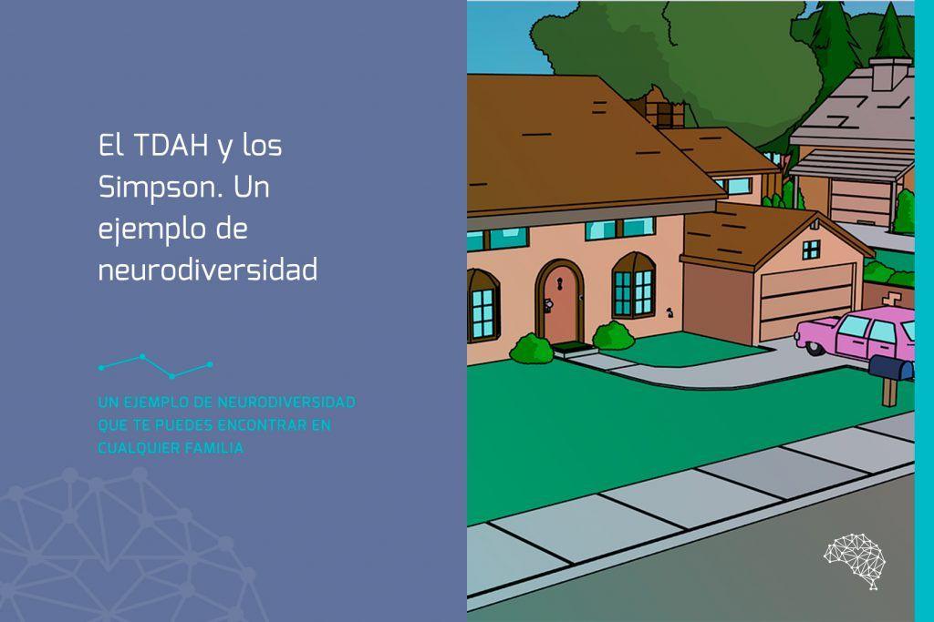 El TDAH y los Simpson. Un ejemplo de neurodiversidad