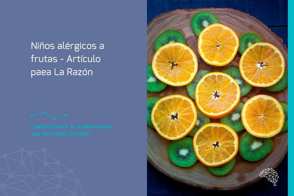 niños alérgicos a frutas