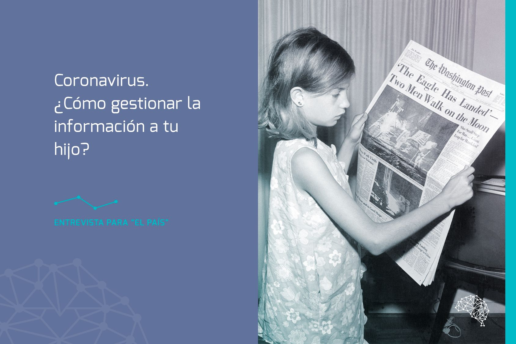 Coronavirus. ¿Cómo gestionar la información a tu hijo?
