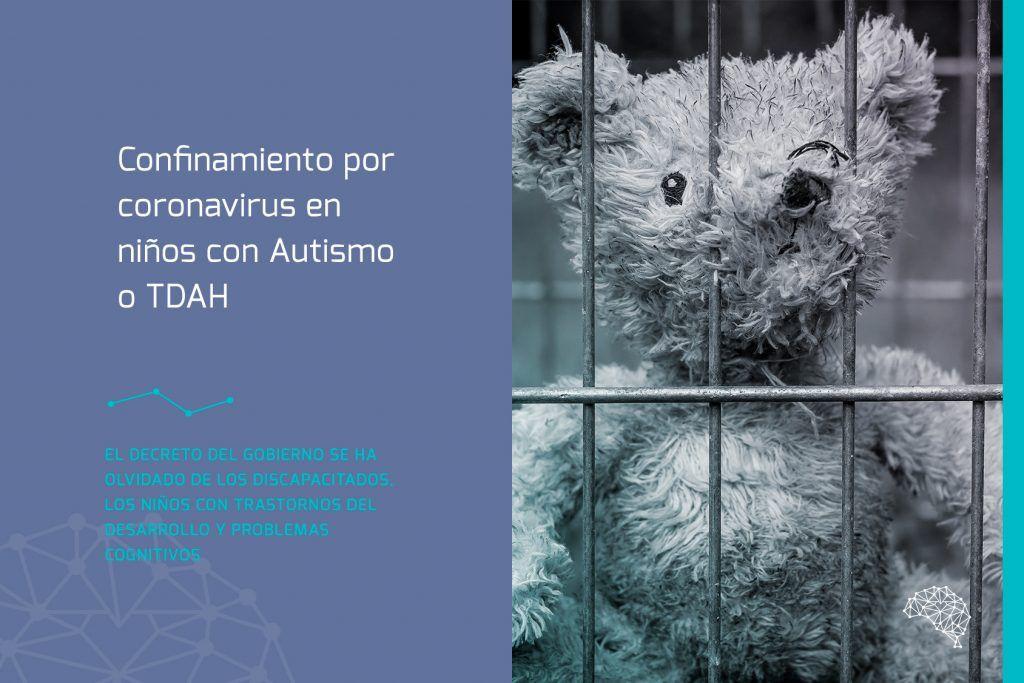 Confinamiento por coronavirus en niños con Autismo o TDAH