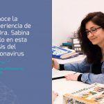 Trabajando con el coronavirus: La experiencia de la Dra. Sabina Bello, neuropsicóloga