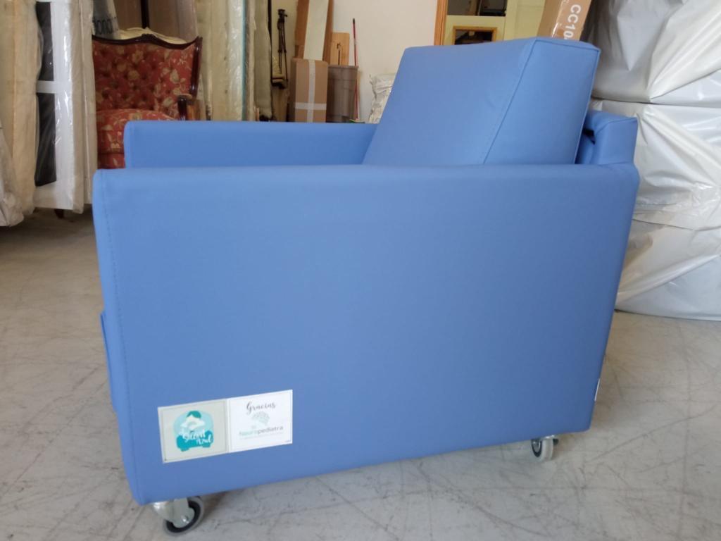 el sillon azul